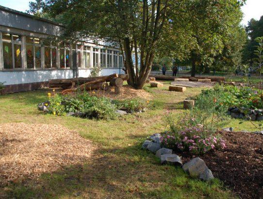 Eröffnung des Schulgartens