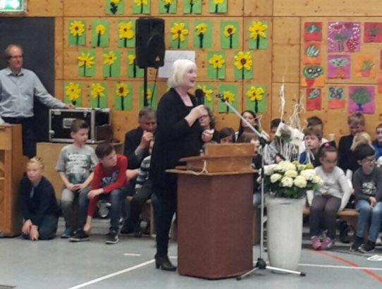 Verabschiedung von unserer Schulleiterin Frau Bleimann